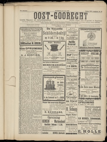 (Volksblad) Oost-Goorecht en Omstreken nl 1939-07-22