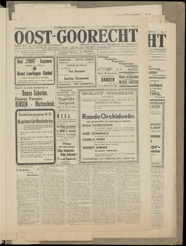 (Volksblad) Oost-Goorecht en Omstreken nl 1941-02-22