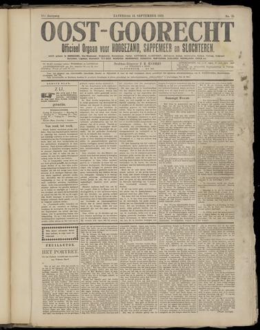 (Volksblad) Oost-Goorecht en Omstreken nl 1921-09-24