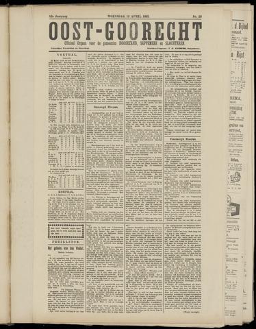 (Volksblad) Oost-Goorecht en Omstreken nl 1922-05-20