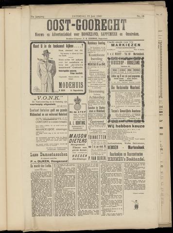 (Volksblad) Oost-Goorecht en Omstreken nl 1940-06-15