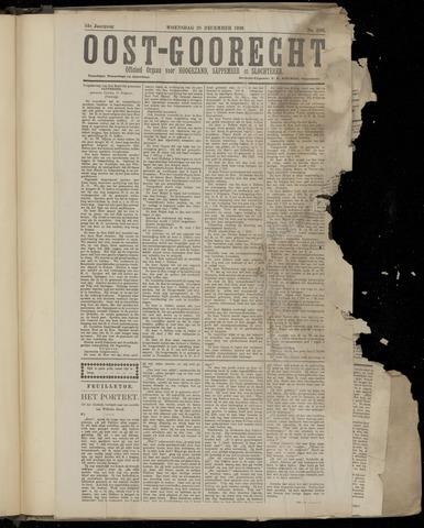 (Volksblad) Oost-Goorecht en Omstreken nl 1921-12-28
