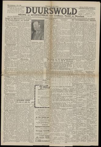 Nieuws- en Advertentieblad, Duurswold nl 1943-07-03