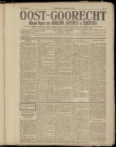 (Volksblad) Oost-Goorecht en Omstreken nl 1921-02-09