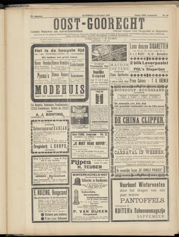 (Volksblad) Oost-Goorecht en Omstreken nl 1937-11-06
