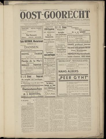(Volksblad) Oost-Goorecht en Omstreken nl 1941-03-29