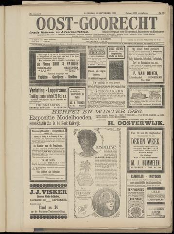(Volksblad) Oost-Goorecht en Omstreken nl 1926-09-18