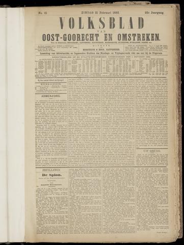 (Volksblad) Oost-Goorecht en Omstreken nl 1892-02-21