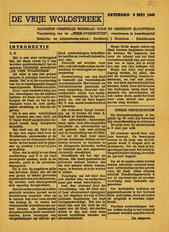 De vrije Woldstreek, Schildwolde nl 1945