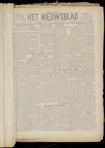 Het Nieuwsblad nl 1948-05-05