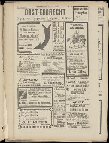 (Volksblad) Oost-Goorecht en Omstreken nl 1932-11-30