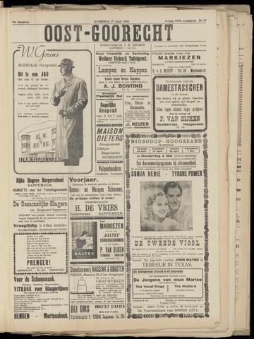 (Volksblad) Oost-Goorecht en Omstreken nl 1940-04-27