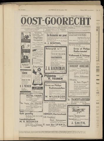 (Volksblad) Oost-Goorecht en Omstreken nl 1940-11-16