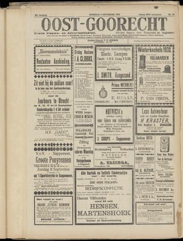 (Volksblad) Oost-Goorecht en Omstreken nl 1932-09-03