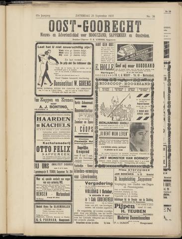 (Volksblad) Oost-Goorecht en Omstreken nl 1937-09-25