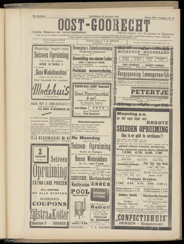 (Volksblad) Oost-Goorecht en Omstreken nl 1938-12-31
