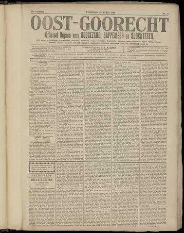 (Volksblad) Oost-Goorecht en Omstreken nl 1921-04-20