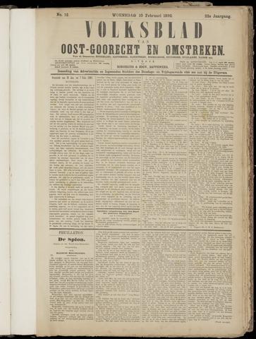 (Volksblad) Oost-Goorecht en Omstreken nl 1892-02-10