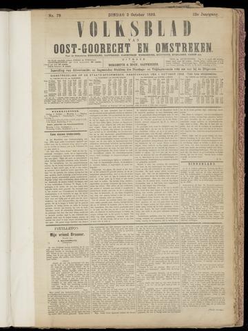 (Volksblad) Oost-Goorecht en Omstreken nl 1892-10-02