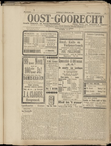 (Volksblad) Oost-Goorecht en Omstreken nl 1932-02-06
