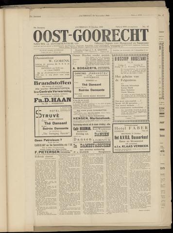 (Volksblad) Oost-Goorecht en Omstreken nl 1940-10-19