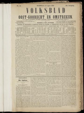 (Volksblad) Oost-Goorecht en Omstreken nl 1892-04-27
