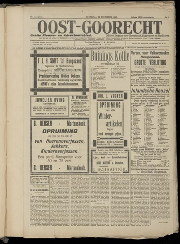 (Volksblad) Oost-Goorecht en Omstreken nl 1924-12-12
