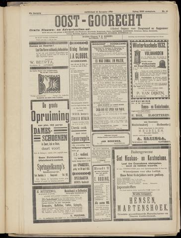 (Volksblad) Oost-Goorecht en Omstreken nl 1932-11-12