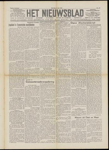 Het Nieuwsblad nl 1949-07-09