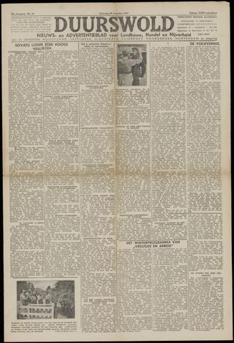 Nieuws- en Advertentieblad, Duurswold nl 1943-08-28
