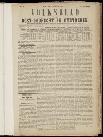 (Volksblad) Oost-Goorecht en Omstreken nl 1892-01-31