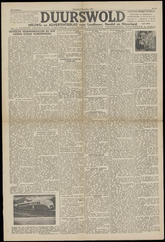 Nieuws- en Advertentieblad, Duurswold nl 1943-12-04