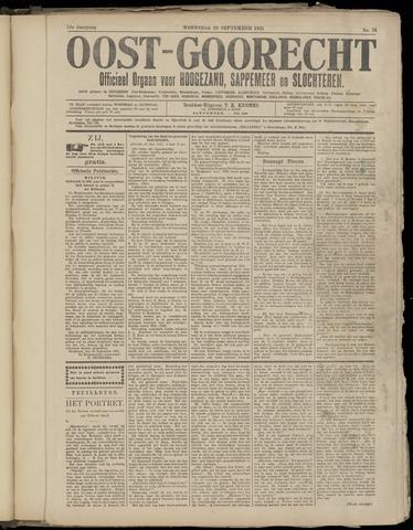 (Volksblad) Oost-Goorecht en Omstreken nl 1921-09-28