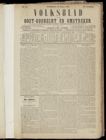 (Volksblad) Oost-Goorecht en Omstreken nl 1892-03-23