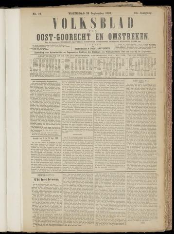 (Volksblad) Oost-Goorecht en Omstreken nl 1892-09-28