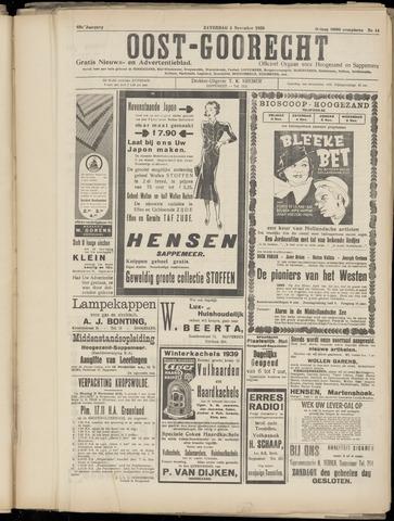 (Volksblad) Oost-Goorecht en Omstreken nl 1939-11-04