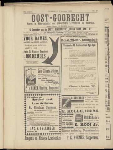(Volksblad) Oost-Goorecht en Omstreken nl 1936-12-02