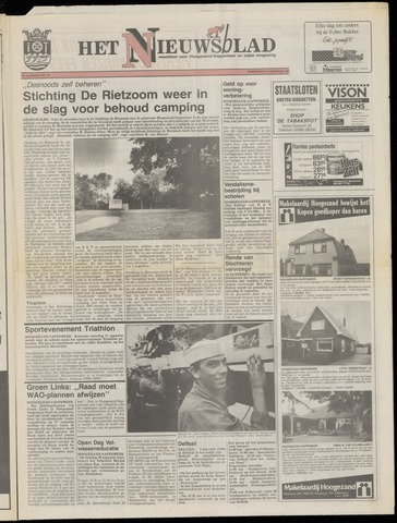 Het Nieuwsblad nl 1991-08-15