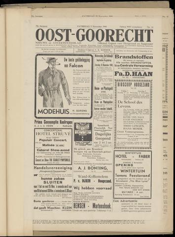 (Volksblad) Oost-Goorecht en Omstreken nl 1940-11-02