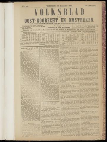 (Volksblad) Oost-Goorecht en Omstreken nl 1892-12-14