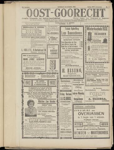 (Volksblad) Oost-Goorecht en Omstreken nl 1932-10-15