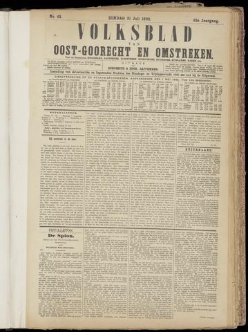 (Volksblad) Oost-Goorecht en Omstreken nl 1892-07-31