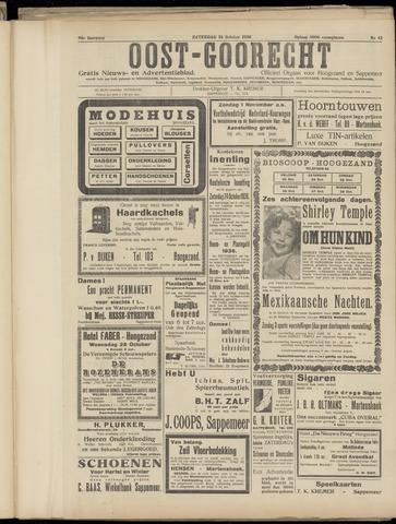(Volksblad) Oost-Goorecht en Omstreken nl 1936-10-24