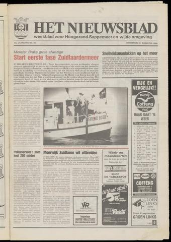 Het Nieuwsblad nl 1989-08-31