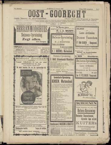 (Volksblad) Oost-Goorecht en Omstreken nl 1936-01-11