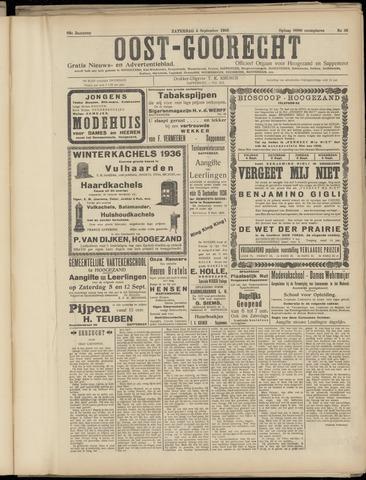 (Volksblad) Oost-Goorecht en Omstreken nl 1936-09-05