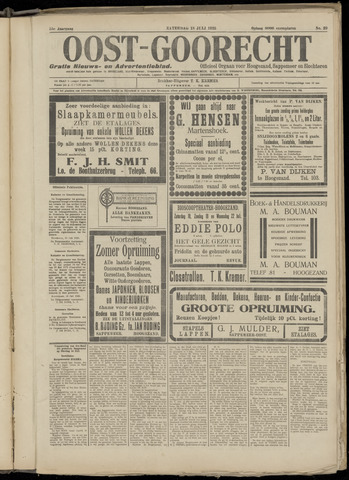 (Volksblad) Oost-Goorecht en Omstreken nl 1925-07-18