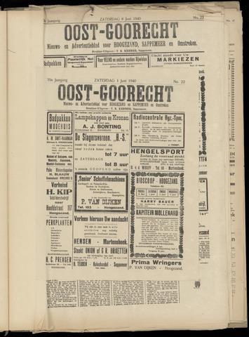 (Volksblad) Oost-Goorecht en Omstreken nl 1940-06-01