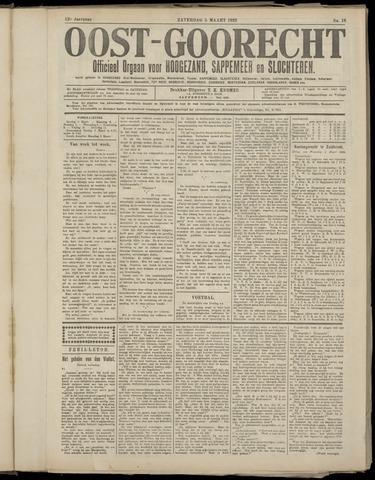 (Volksblad) Oost-Goorecht en Omstreken nl 1922-03-05