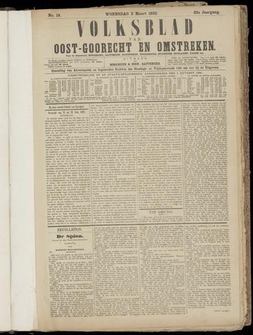 (Volksblad) Oost-Goorecht en Omstreken nl 1892-03-02